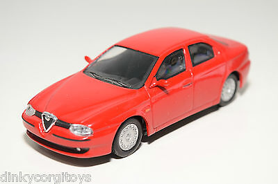 REVELL METAL ALFA ROMEO 156 RED NEAR MINT CONDITION