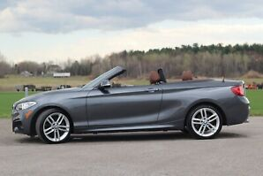 Bmw convertible 230i xdrive 2017 / 18 775 km !