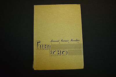 1936 The Glen Echo Codorus Township High School Glenville Pa Unsigned Yearbook