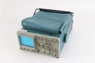 Tektronix 2465 300mhz Portable Analog Oscilloscope W Bag Ac Power Cord