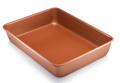 "Gotham Steel Bakeware - Nonstick Copper XL 9"" x 13"" Cooking & Baking Pan - New!"