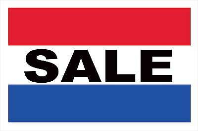 Sale RWB Vinyl Advertising Banner Sign 24 X 36 Inch 4 Gromme