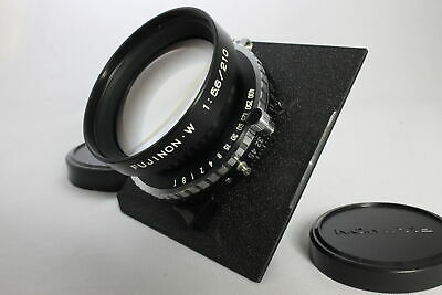 Excellent FUJI PHOTO FUJINON・W 210mm f5.6 Large Format Lens from Japan Fuji Photo