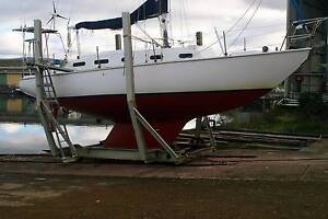 Yacht for sale. Dover Huon Valley Preview