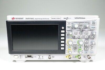 Keysight Used Dsox1102g 1000 X-series Oscilloscope W. Wavegen100 Mhz