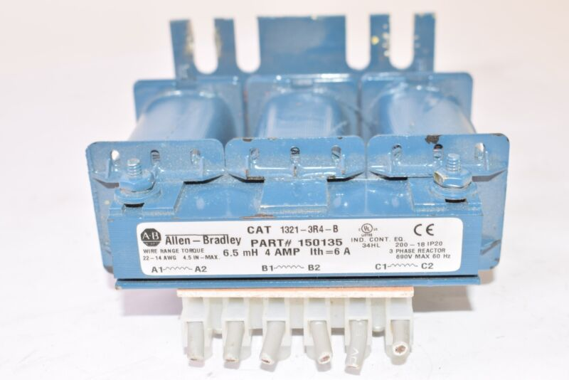 Allen Bradley 1321-3R4-B, Part: 150135 Line Reactor