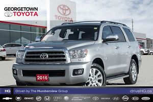 2016 Toyota Sequoia Limited|NAVIGATION|BACKUP CAM|SUNROOF|DVD|LE
