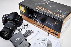 Nikon D5200 DSLR Camera with Nikkor 18-55mm VR Kit Sydney City Inner Sydney Preview