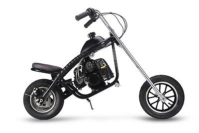 HOT SALE 49CC GAS 2 STROKE MINI CHOPPER BIRTHDAY CHRISTMAS HARLEY PRESENT BLACK ()