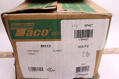 Taco Circulator Pump Cast Iron 005-f2