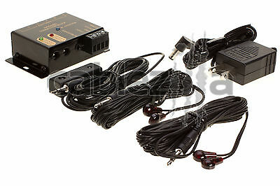 IR Remote Repeater extender system kit with 4 Infrared Hidden Emitter receiver