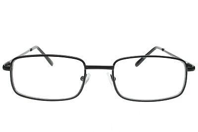 Men Women Fake Non Prescription Glasses Clear Lens Metal Frame Nerd Geek (Fake Glasses Mens)