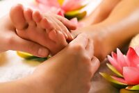 Reflexology and foot massage