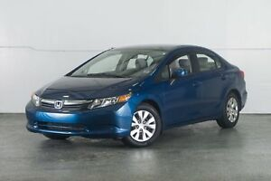 2012 Honda Civic LX (M5) CERTIFIED Finance for $53 Weekly OAC