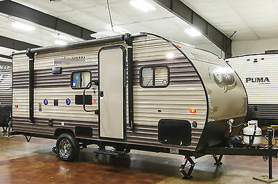 New 2017 16BHS Ultra Lite Bunkhouse Travel Trailer Camper with Bunks Never Used