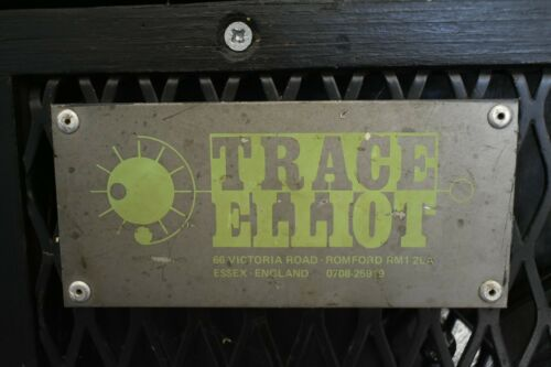 Trace Elliot 1518 Bass Cabinet 300w - red stripe early logo model with cover!