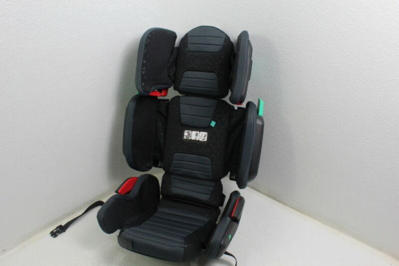 Mifold HF01-GL/GRY hifold Highback Booster Seat Adjustable Foldable Slate Grey