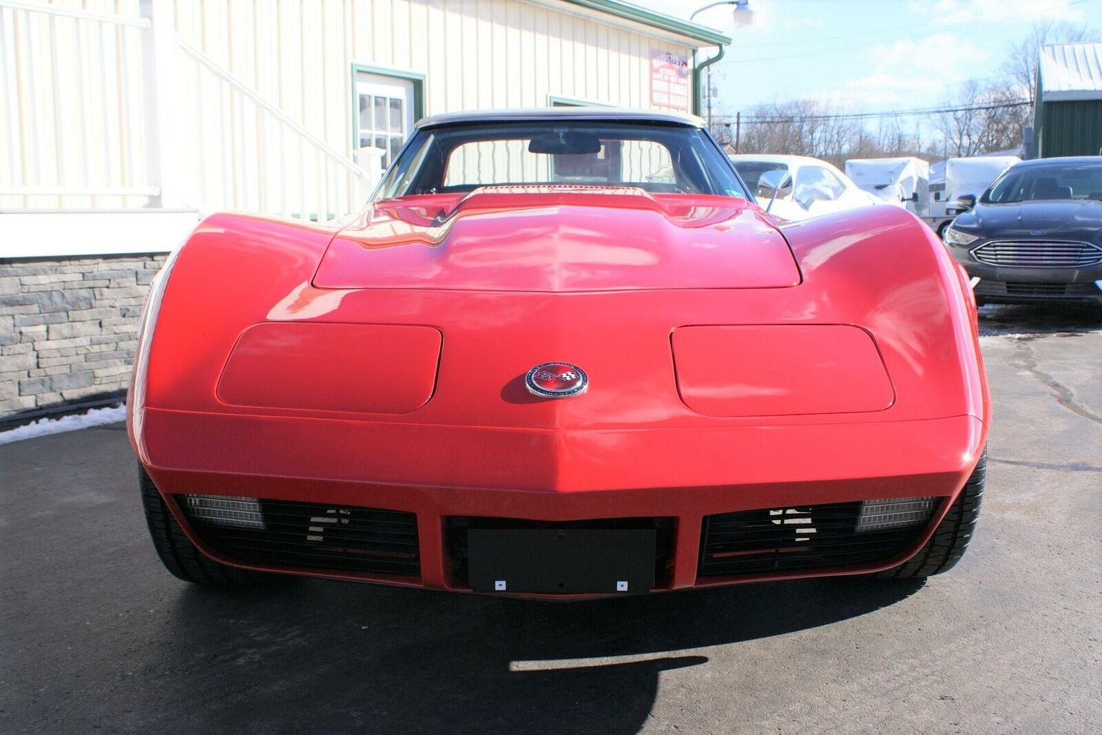 1974 Red Chevrolet Corvette  L82   C3 Corvette Photo 5