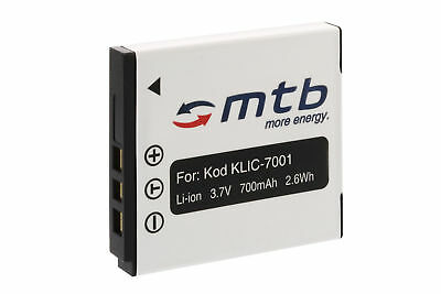 Akku KLIC-7001 für Kodak Easyshare M320, M340, M341, M753, M763, M853, M863