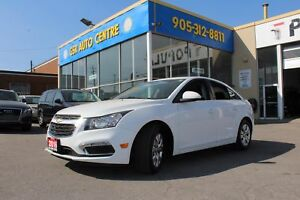 2016 Chevrolet Cruze 1LT Auto | BACKUP CAMERA | BLUETOOTH | TURB