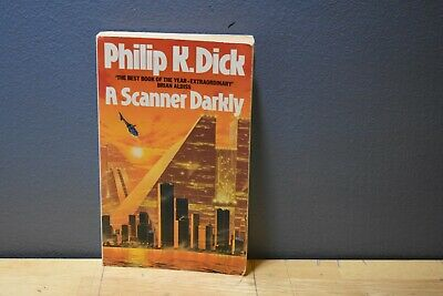 A Scanner Darkly Philip K. Dick Grafton UK Paperback 1990 VG
