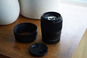 Sigma 30mm 1.4 lens for Sony E Mount