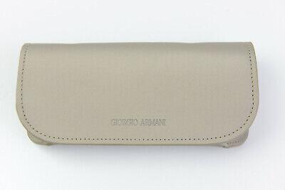 New Giorgio Armani Sunglasses/Eyeglasses - Beige - Protective Large Case (Giorgio Armani Sunglasses Case)