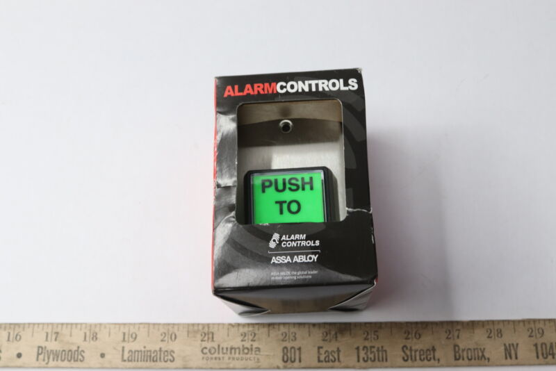 Alarm Controls TS-2 Request To Exit PUSH TO EXIT Station