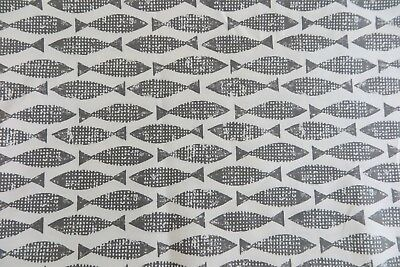 Harlequin//Scion Curtain Fabric Navajo/' By METRES Indigo//Blue Multi 100/% Cotton