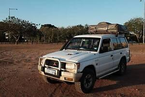 Mitsubishi Pajero 4WD, Roof tent, WA Plate, Rego till January Tennant Creek Tennant Creek Area Preview