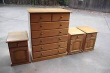 Excellent 7drawers tallboy& 2 sidetables metal runner can deliver Parramatta Parramatta Area Preview