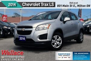 2014 Chevrolet Trax LS/1-OWNER/CLEAN HSTRY/TURBO/AC/BLUETH
