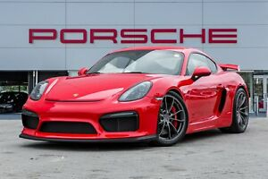 2016 Porsche Cayman GT4|Wings in Black|Full bucket seats