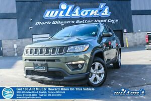 2018 Jeep Compass North 4x4 - NEW TIRES! Bluetooth Streaming, Pr