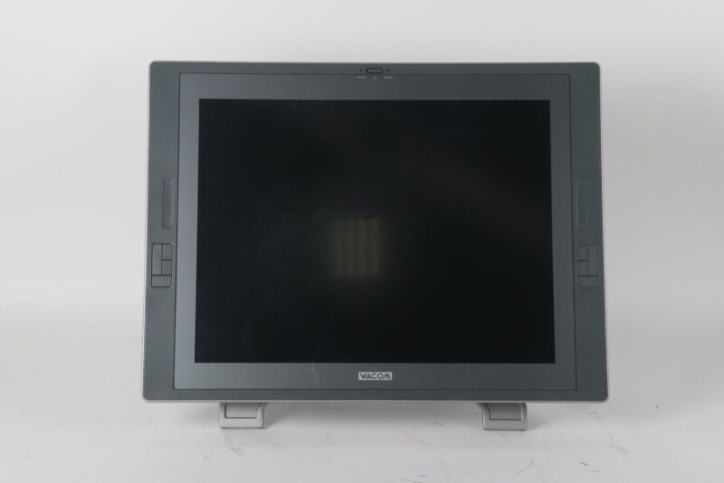 "Wacom DTZ-2100 Cintiq 21UX 21"" Touchscreen LCD Monitor With Stand"