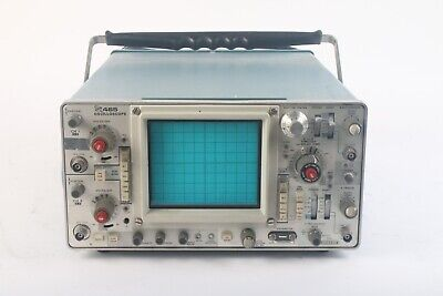 Tektronix 465 Oscilloscope Analog 100mhz Two Channel - As Is Parts Or Repair