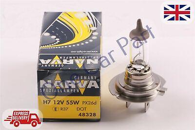 2008 Main HIGH Beam Headlight Bulbs Headlamp 12V 55W H7 Halogen Fu Audi A4 8K2