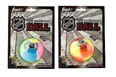 Franklin extreme colour Ball, Inline Hockey, Streethockey, Inlinehockey