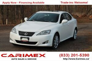 2006 Lexus IS 250 AWD |  Leather | Sunroof  | CERTIFIED