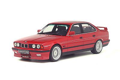BMW ALPINA E34 B10 BITURBO RED 1/18 MODEL CAR BY OTTO MODELS OT648