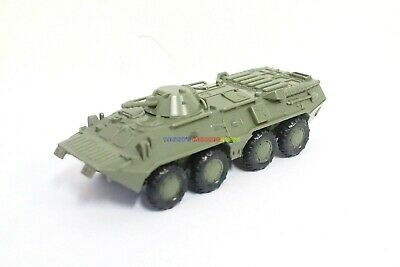 1PC 1/72 Russia BTR-80 Wheeled Armored Vehicle Plastic Kits USSR Military Model
