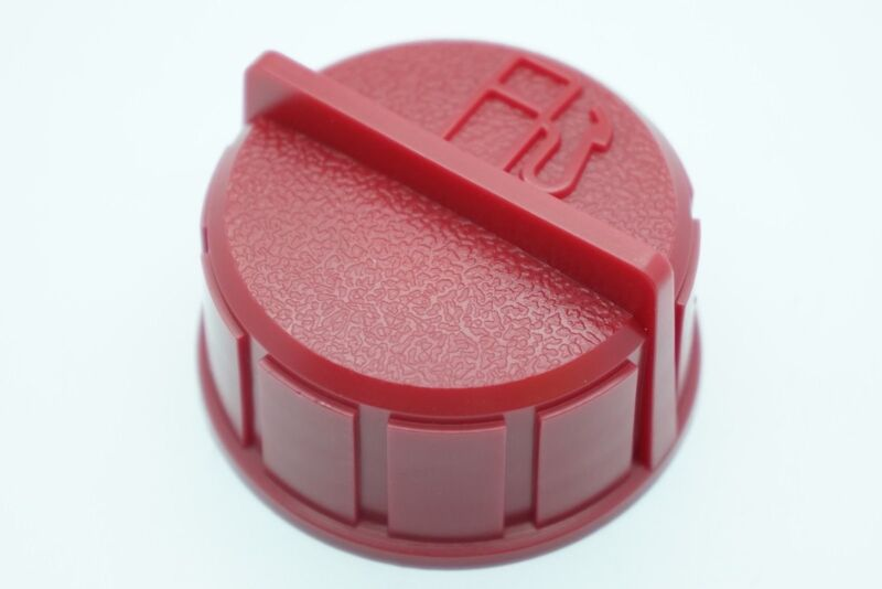 GENUINE OEM TECUMSEH PART # 37845 RED FUEL CAP; SNOW BLOWER MOWER GAS CAP