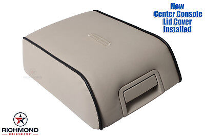 2006 Lincoln Mark LT -Leather Center Console Lid Cover -Armrest Compartment (Richmond Console)