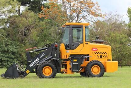 JOBCAT SM75 75HP 5.2 Tonnes GP Bucket+Forklift+Bucket 4 in 1+Grab Archerfield Brisbane South West Preview