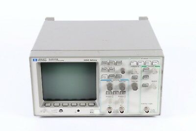Hp Agilent Keysight 54600b 100mhz 2-channel Oscilloscope