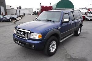 2007 Ford Ranger Sport SuperCab Short Box 4WD with Canopy and Ro