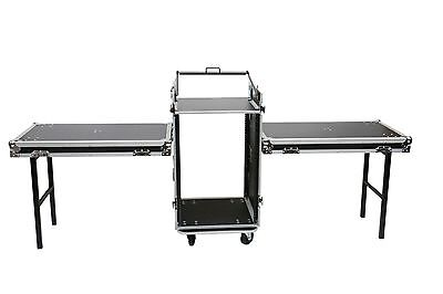 OSP 16 Space Combo Mixer/Amp ATA Rack Road Case w/10u Top Mixer Mounting 10 Space Combo Rack Case