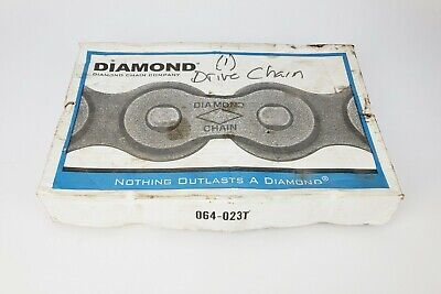 Diamond Chain X-1470-010 - 10 Feet #100 Riveted, New!