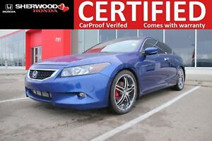 2008 Honda Accord EX-L V6| 3M|HEATED LEATHER|HOMELINK|FOG