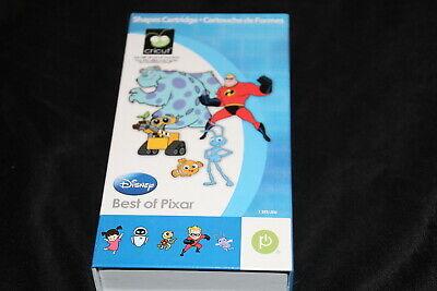 Best of Pixar Disney Incredibles Cricut cartridge booklet overlay box LINKED